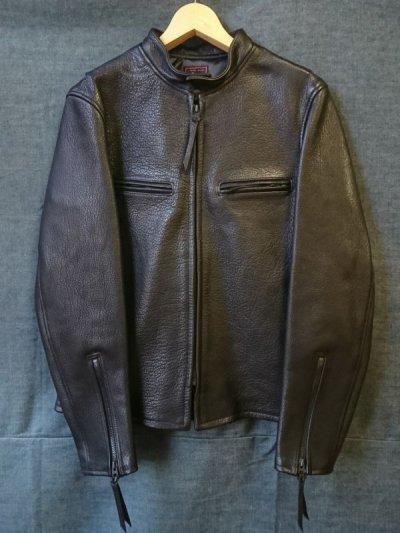 画像1: シングルライダースジャケット