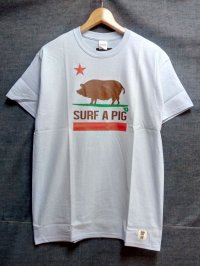 SURF A PIG プリントTシャツ ST-11