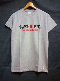 SURF A PIG プリントTシャツ ST-9
