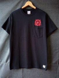 SURF A PIG プリントポケット付Tシャツ ST-7