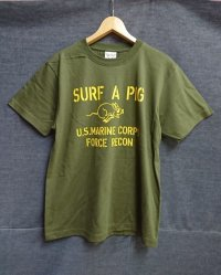 SURF A PIG プリントTシャツ ST-22