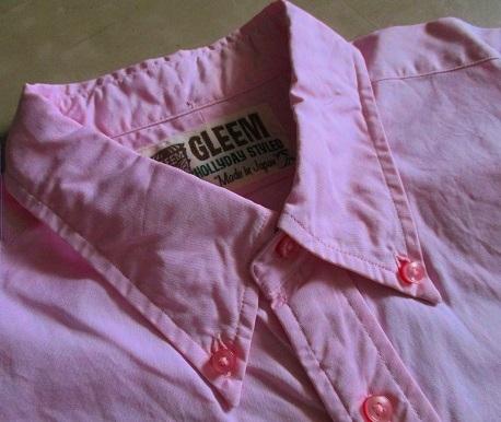 薄手のボタンダウンシャツ