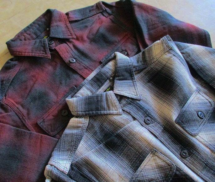 フランネルシャツ オススメです。