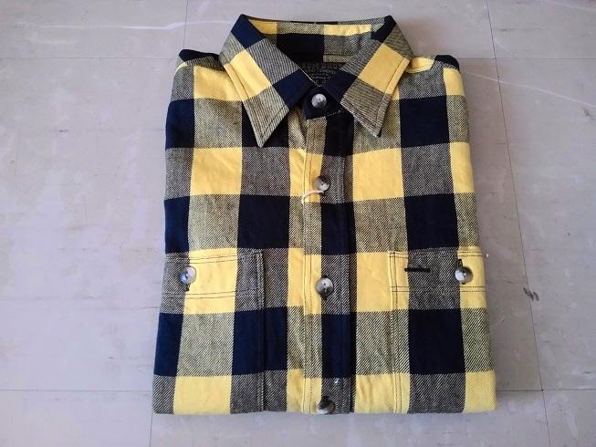 新作ネルシャツ