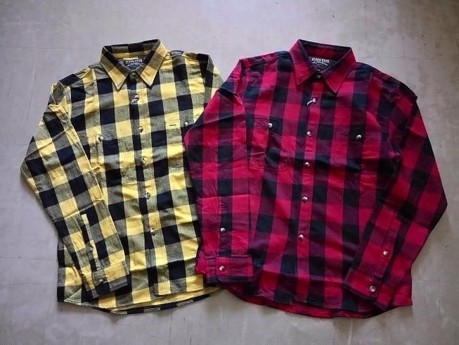 ネルシャツ 新色登場です!