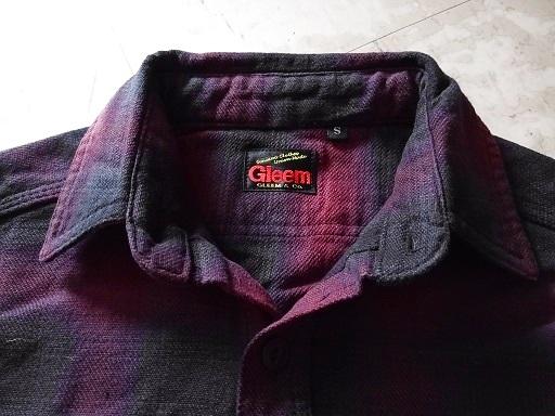 オンブレチェックシャツ