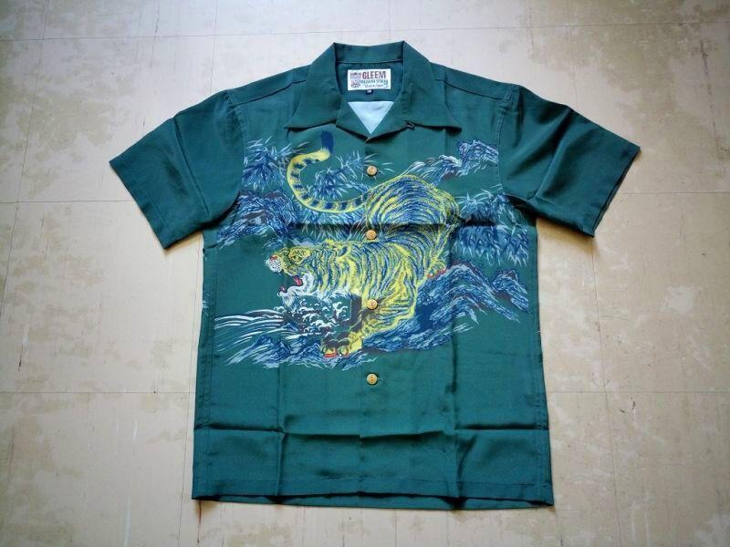 ハワイアンシャツ 虎柄
