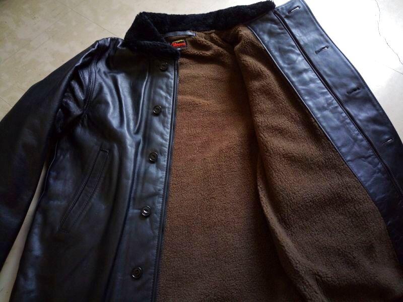レザーN-1ジャケット